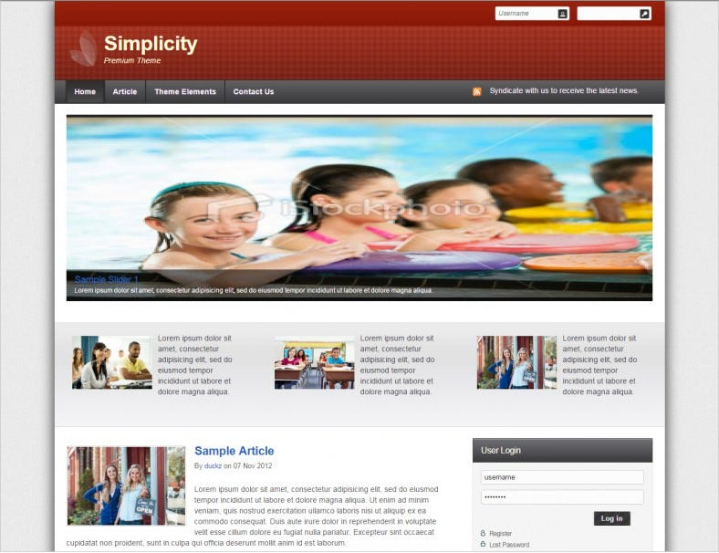 preimum simplicity drag and drop drupal theme 17 788x606
