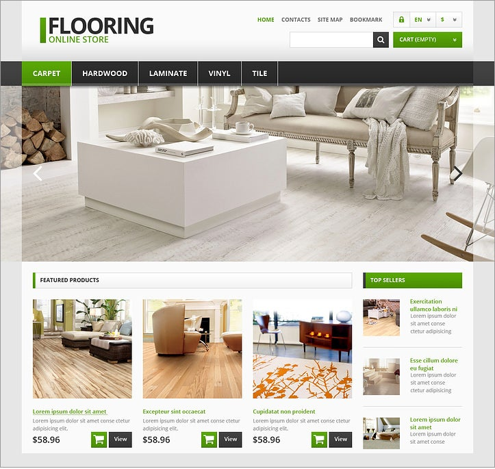 prestashop theme responsive flooring store 139