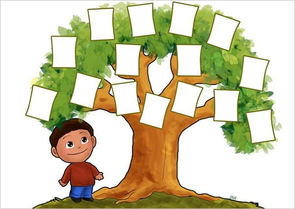 Family Tree Template For Kids 19 Free Word Excel Pdf Format