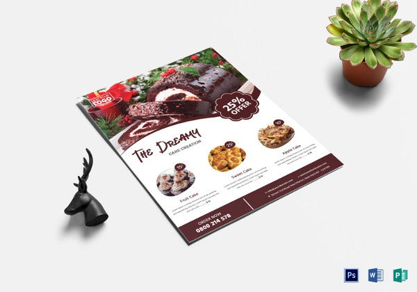 professional bake sale flyer template