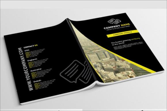 professional creative brochure template