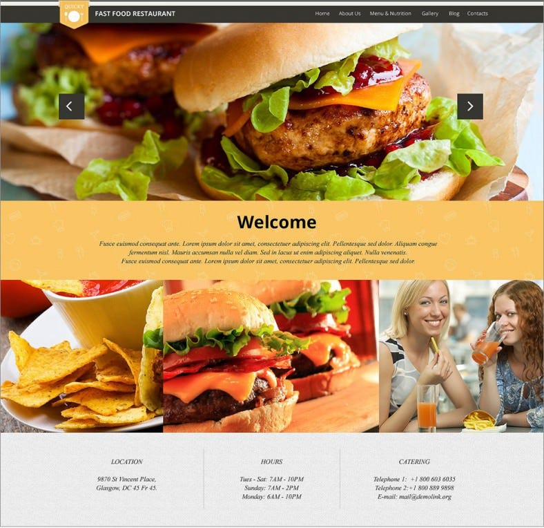 quick snack orange responsive wordpress themes 75 788x764