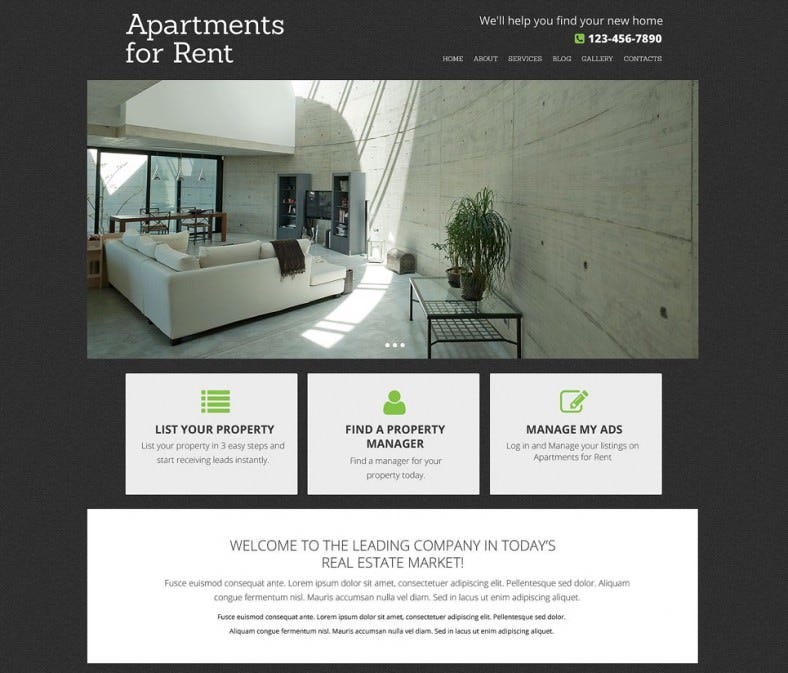 real estate agency drupal template1 788x673