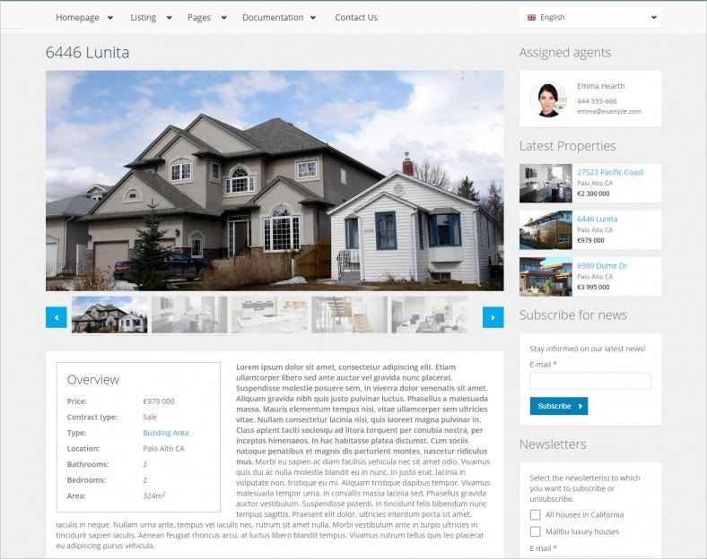 17+ Best Real Estate Drupal Templates & Themes | Free & Premium ...