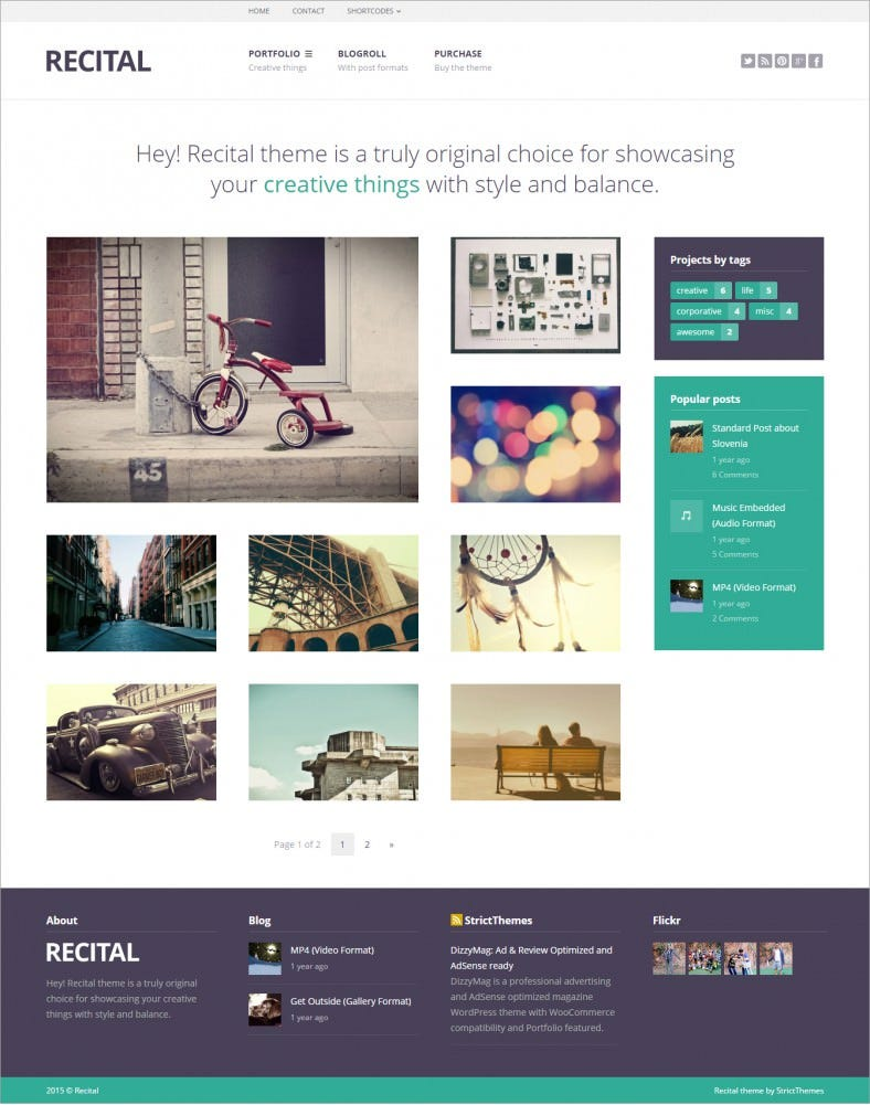 recital artists portfolio responsive wordpress theme 43 788x1001