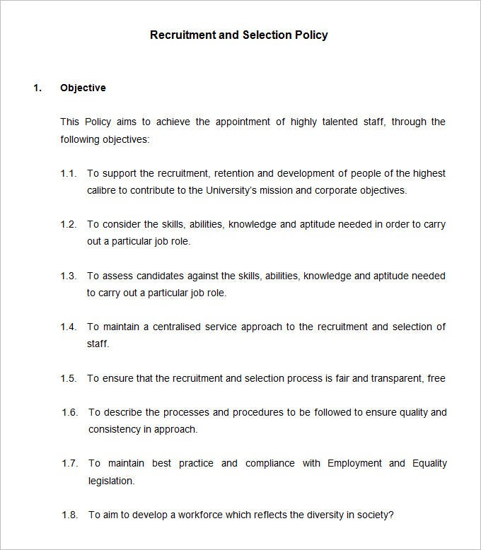 Policy Manual Template. Administrative Procedures Manual Template