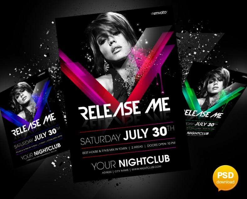 release me party flyer 788x636