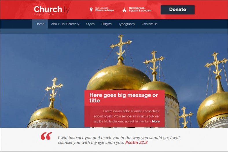 religion hot church wordpress template 788x528