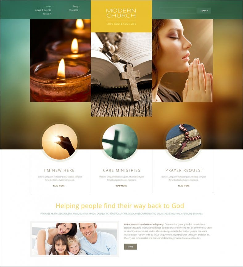 18 Best Spiritual Website Templates |Free & Premium Themes | Free