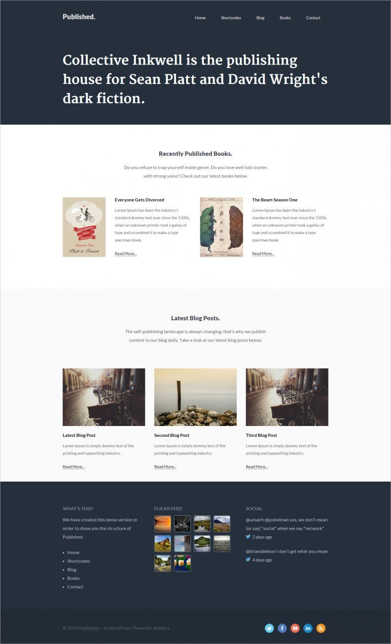 responsive author theme 788x1297