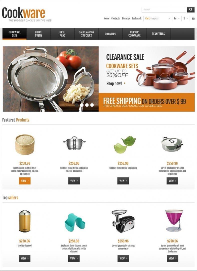 responsive cookware shop prestashop theme 139 788x1084
