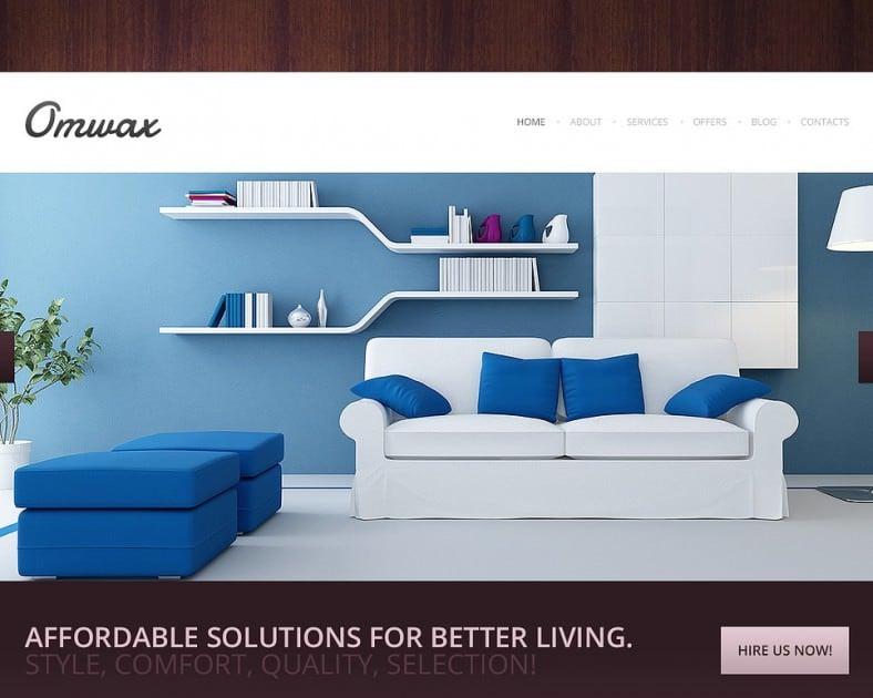 responsive drupal templatefor interior design 788x630