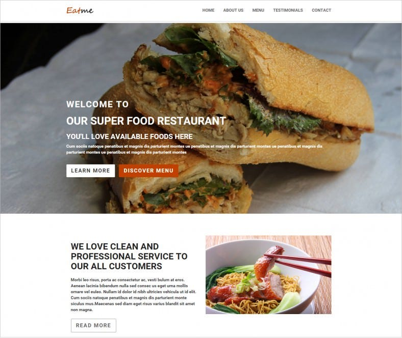 responsive food restaurant html5 theme 10 788x664