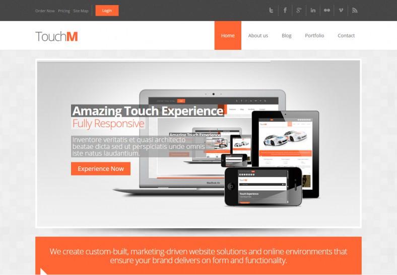 responsive html5 css3 drupal theme1 788x547