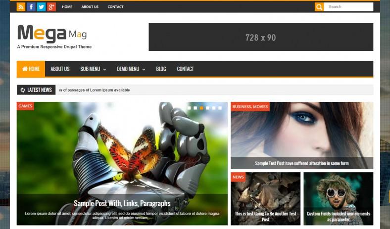 responsive magazine drupal theme 788x463