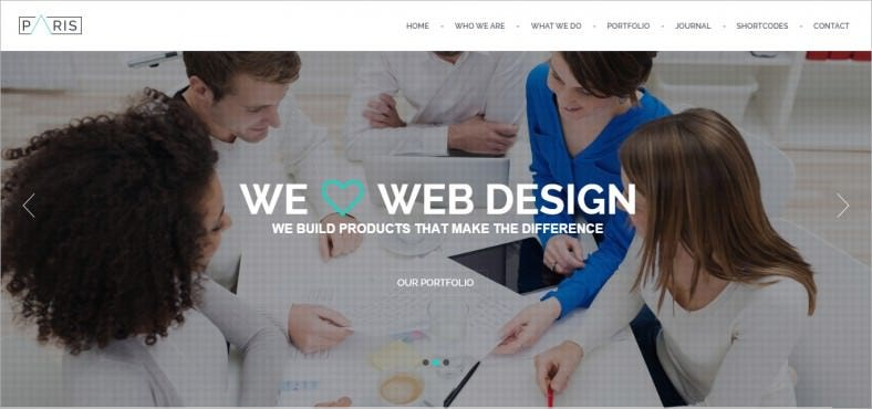 Responsive OnePage Drupal 7 Template and theme