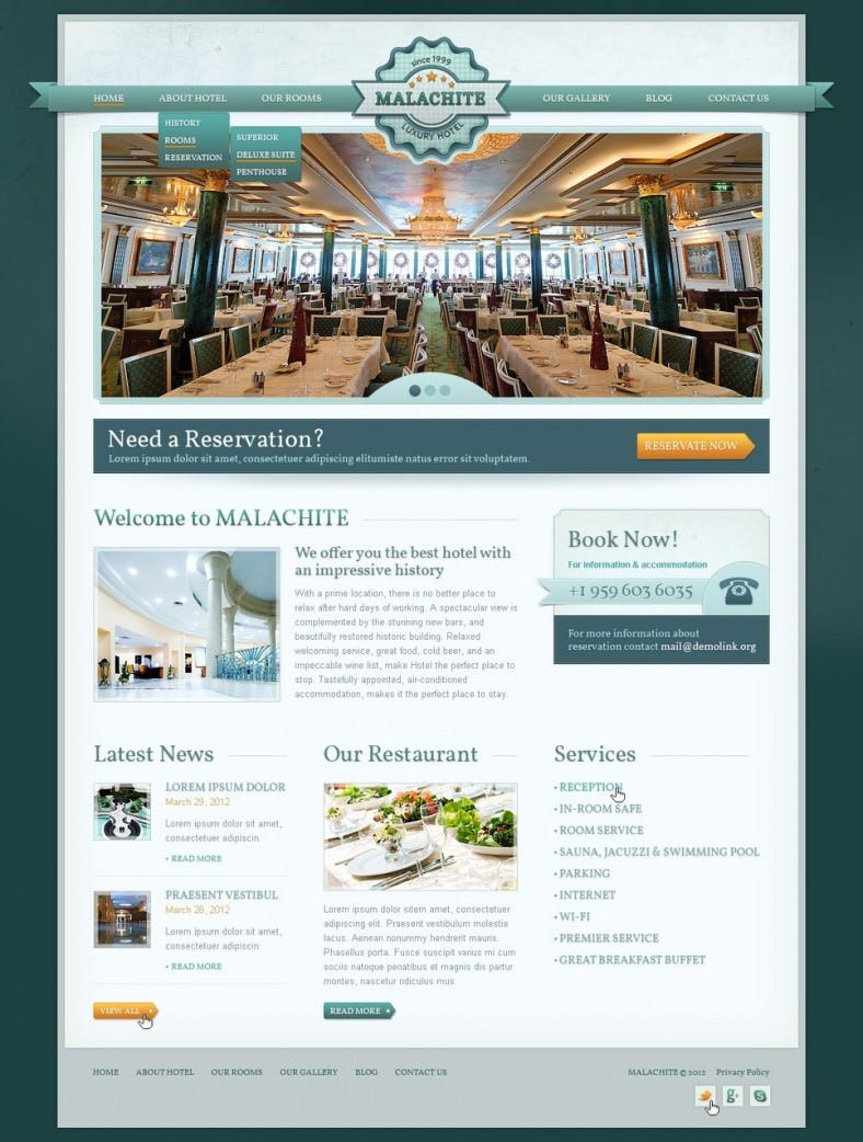 responsive vintage style drupal template 68 788x1042