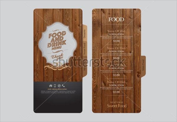 Food Menu Template - 35+ Free Word, PDF, PSD, EPS, InDesign Format ...