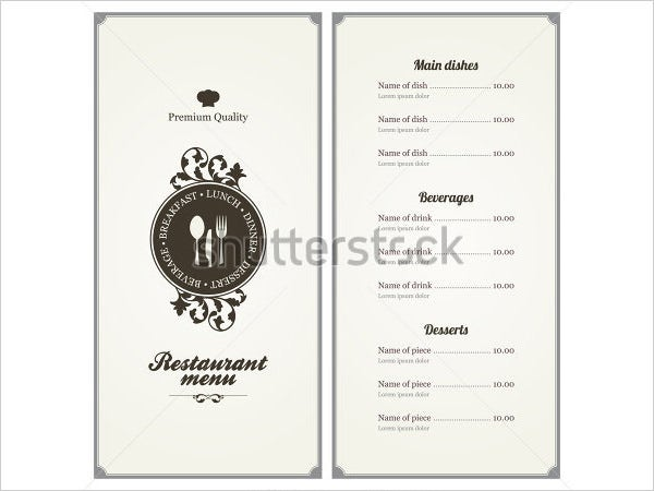 restaurant menu card design1