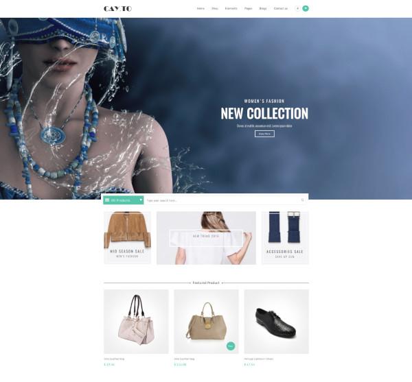 retail responsive drupal theme