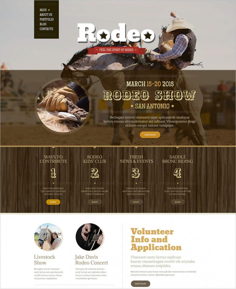 retro style responsive drupal template 75 788x966