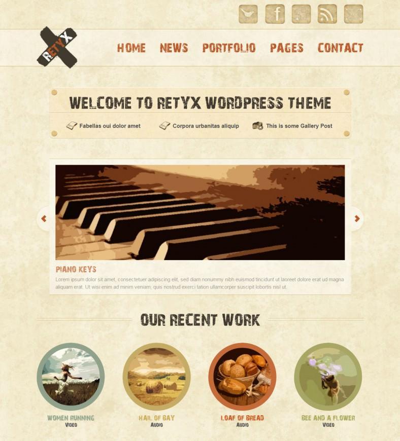 retyx grunge style responsive wordpress theme 43 788x870