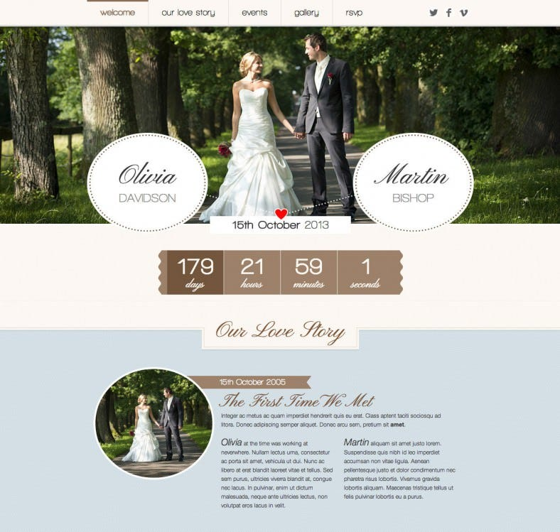 romantic wedding responsive wordpress theme 39 788x749