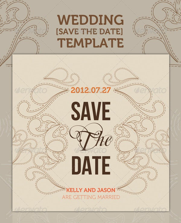 romantic wedding shower invitation template