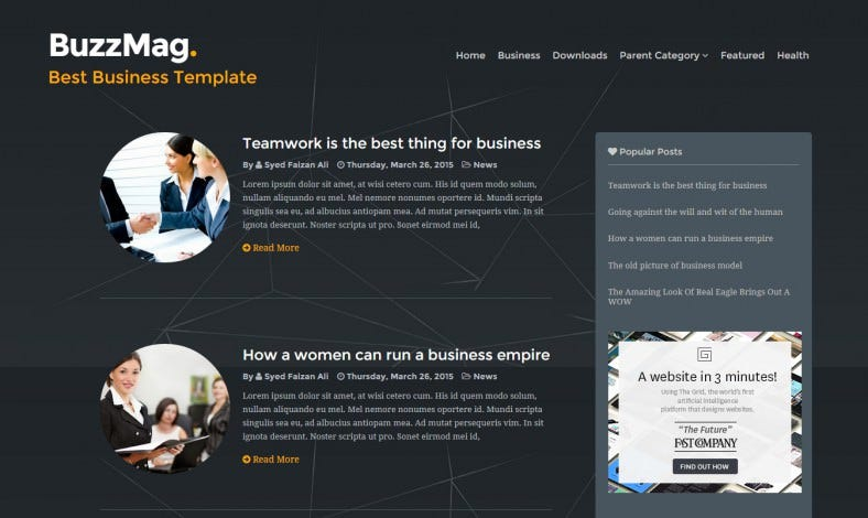 seo optimized business corporate theme 788x470
