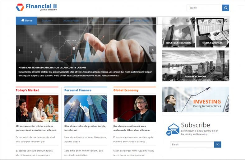 sj financial advisor joomla template 39 788x516