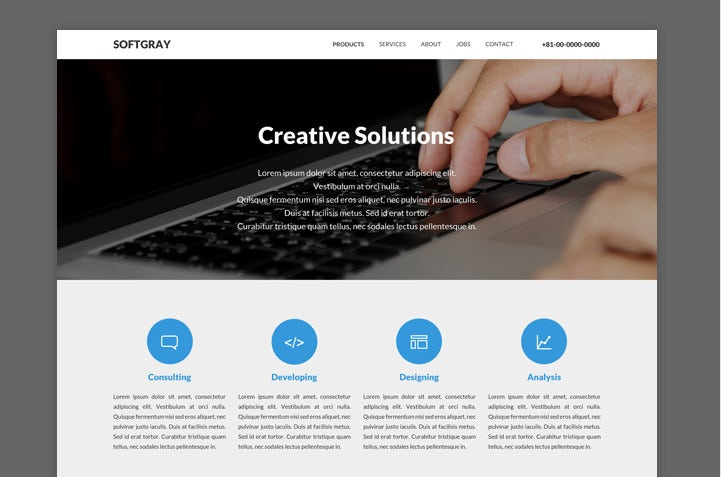 Simple Web Page Template Geccetackletartsco - Basic website templates
