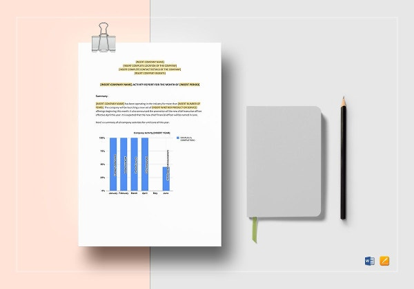 sample-activity-report-template