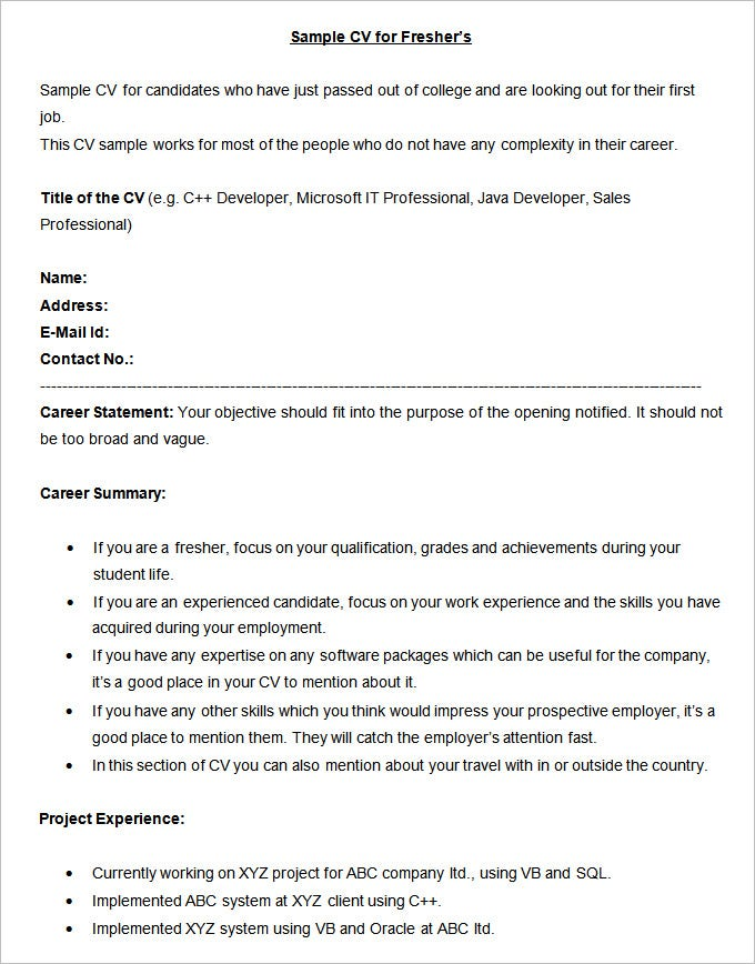 Writing Summary For Resume  Resume Writing And Administrative