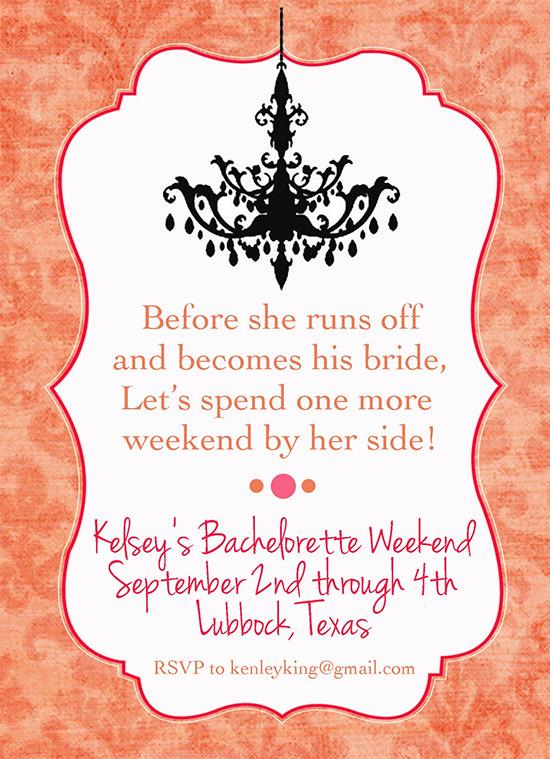 sample bachelorette invitation template
