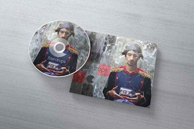 sample dvd cover template from behance