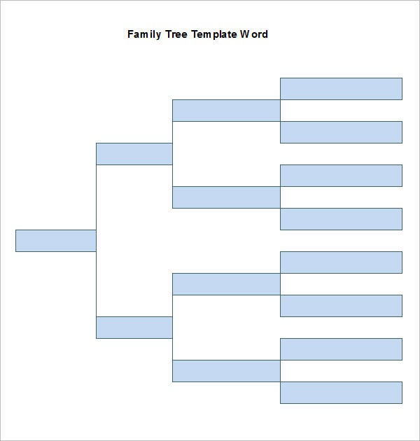 6 word family tree templates free word documents download free sample family tree template word free download ccuart Images