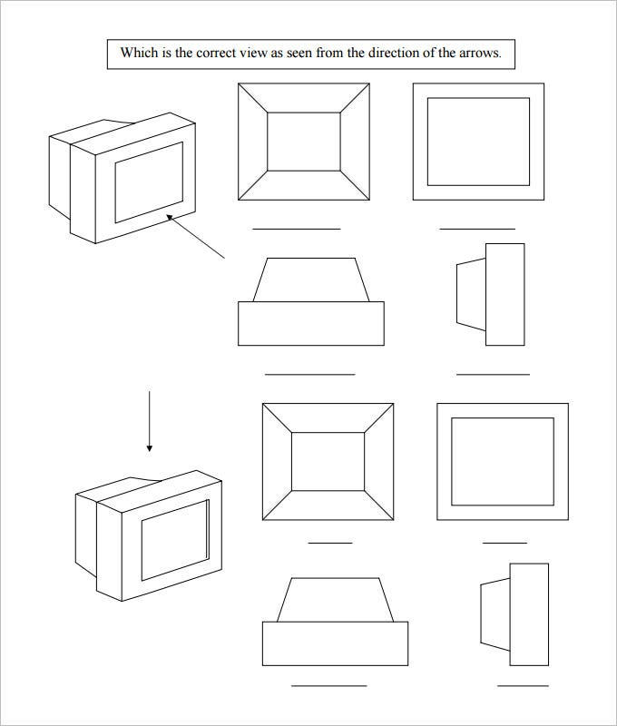 sample high school geometry worksheet template