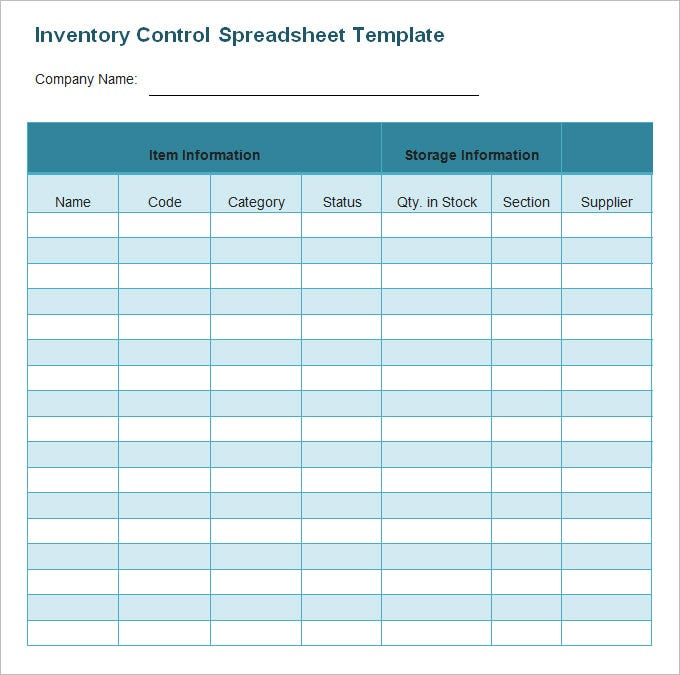 Inventory Spreadsheet Template 45 Free Word Excel Documents – Business Inventory Template