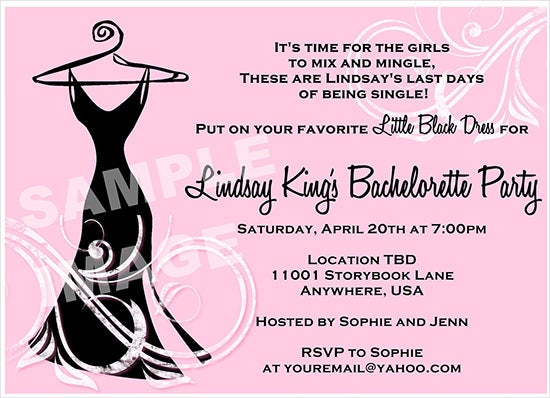 Bachelorette invitation template 41 free psd vector eps ai sample invitation for bachelorette party stopboris Images