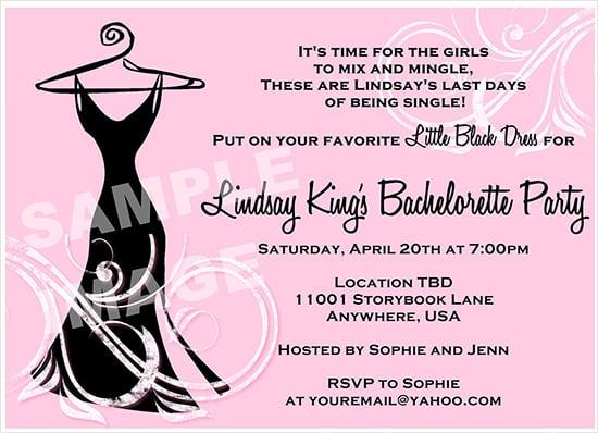 Cute Quotes For Bachelorette Invitations Wedding Invitation Sample – Bachelorette Party Invitations Templates Free
