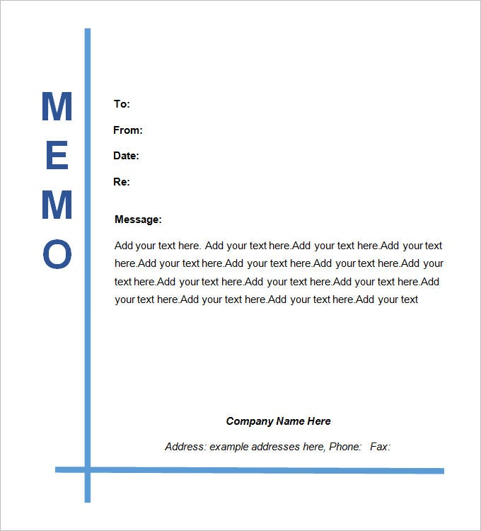 Sample Legal Memo Template  Memo Templates
