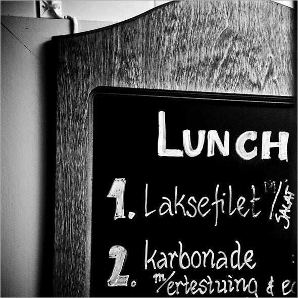 sample lunch menu template download