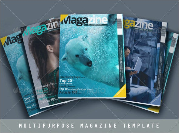 sample multipurpose news magazine psd template