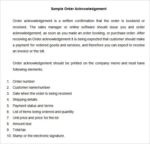 order acceptance letter format