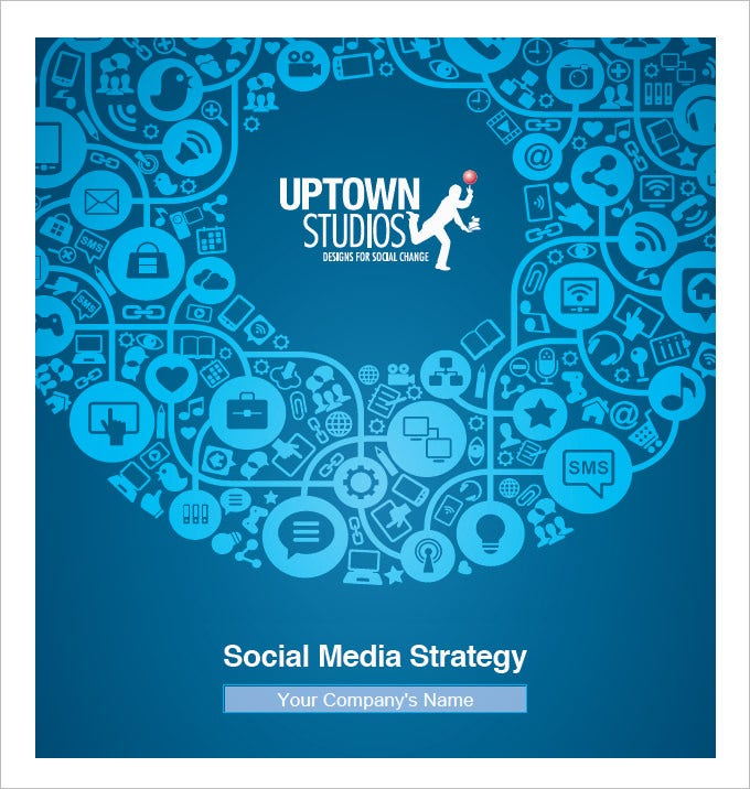sample social media strategy template pdf download
