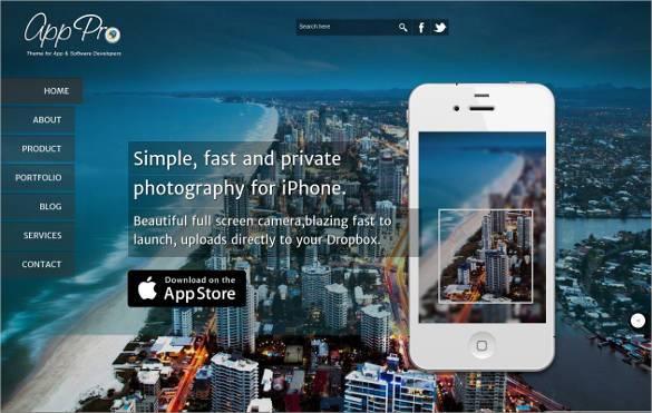 sample-software-developer-app-theme