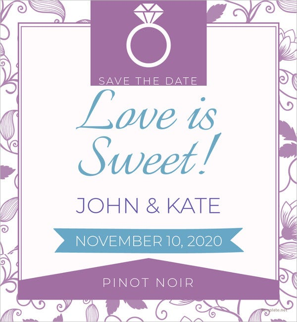 save-the-date-label-template