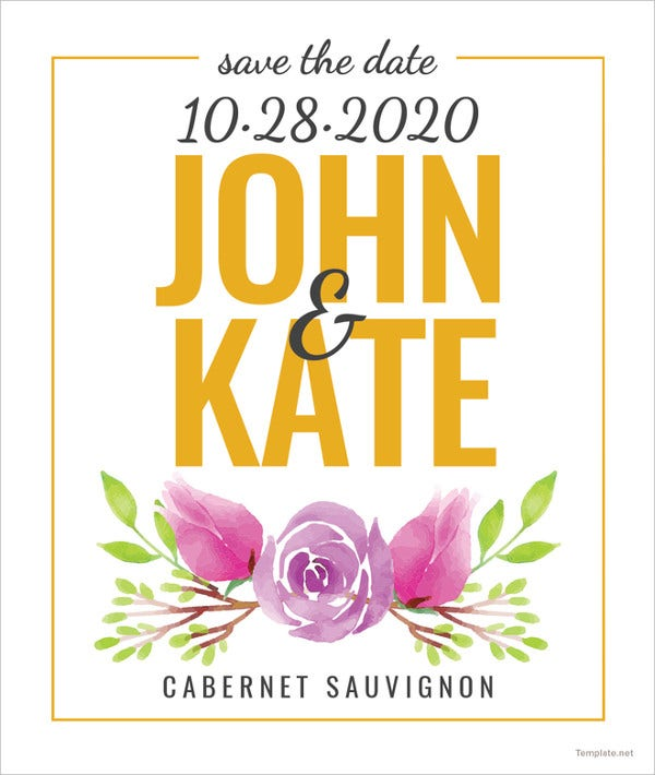 save-the-date-wine-label-template