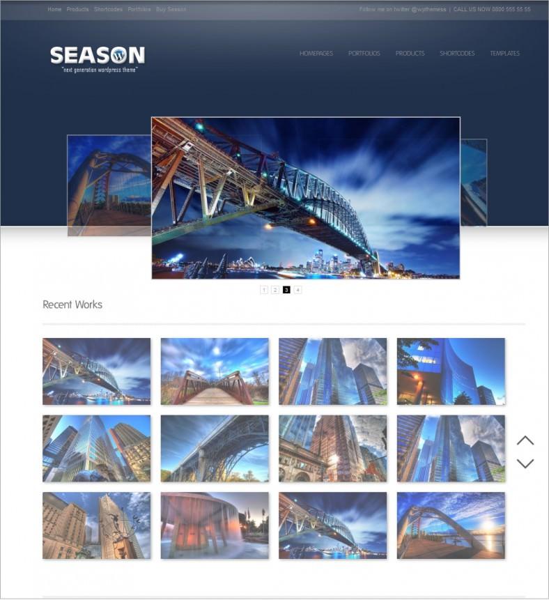 season blue responsive wordpress theme 35 788x861