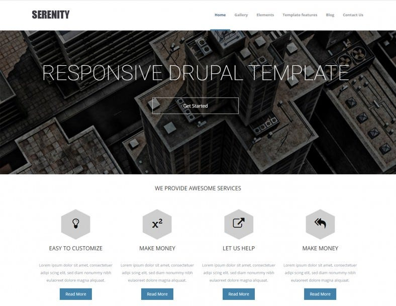 Portfolio Business Drupal Theme